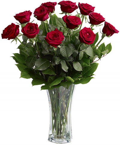 12 Red Roses image